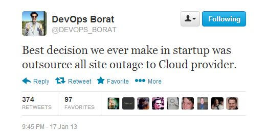 DevOps Borat on Cloud Servers