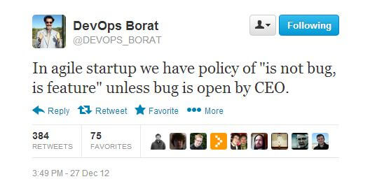 DevOps Borat on Agile Development