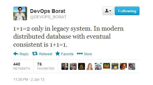 DevOps Borat on legacy system