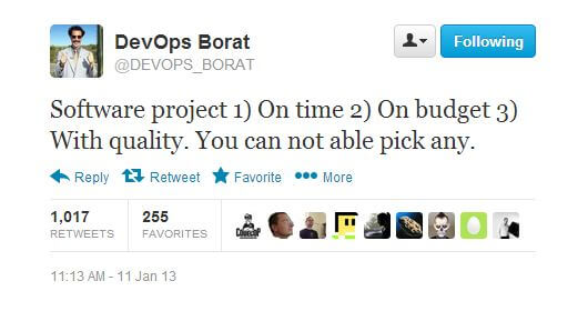 DevOps Borat explains project management