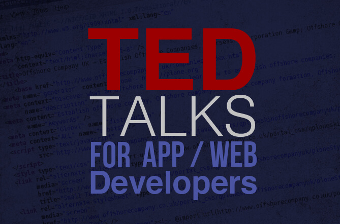 Best Ted Talks For Developers