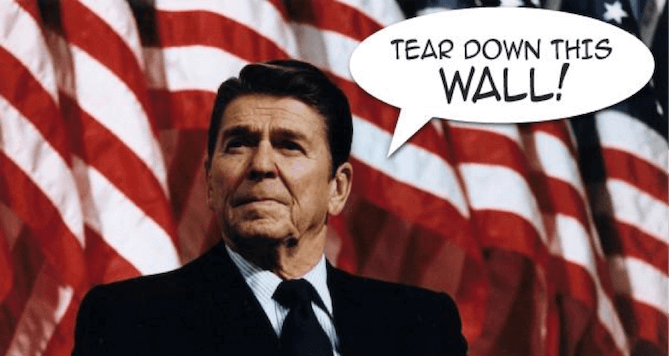 agile application support - president ronald reagan meme