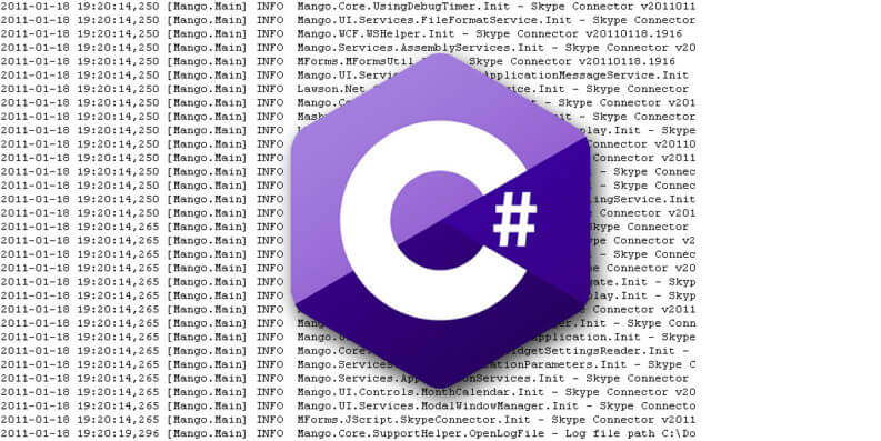C# Logging Best Practices