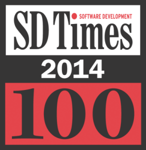 Stackify SD times 100 logo 2014