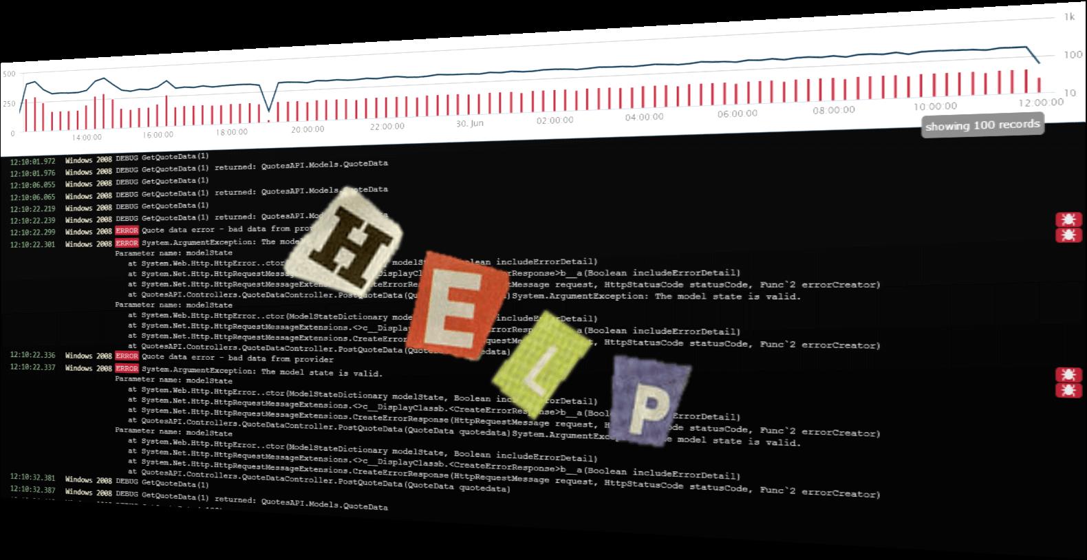 Webinar log error