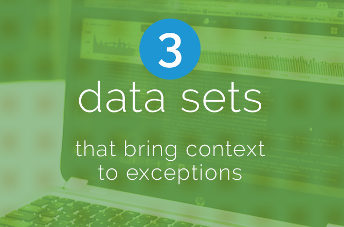 Context to exceptions