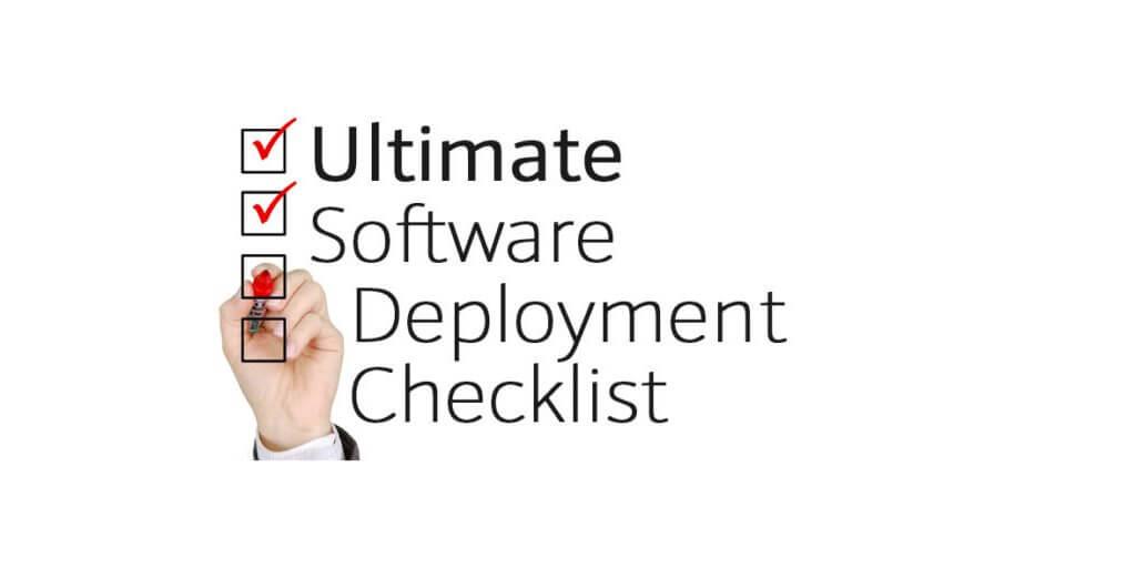 software deployment tips