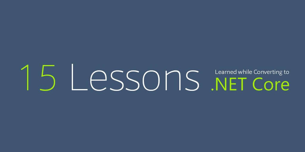 .Net Core Lessons