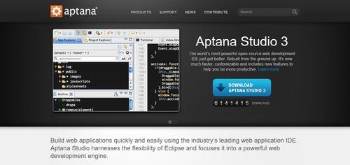 Aptana (IDE Tool)