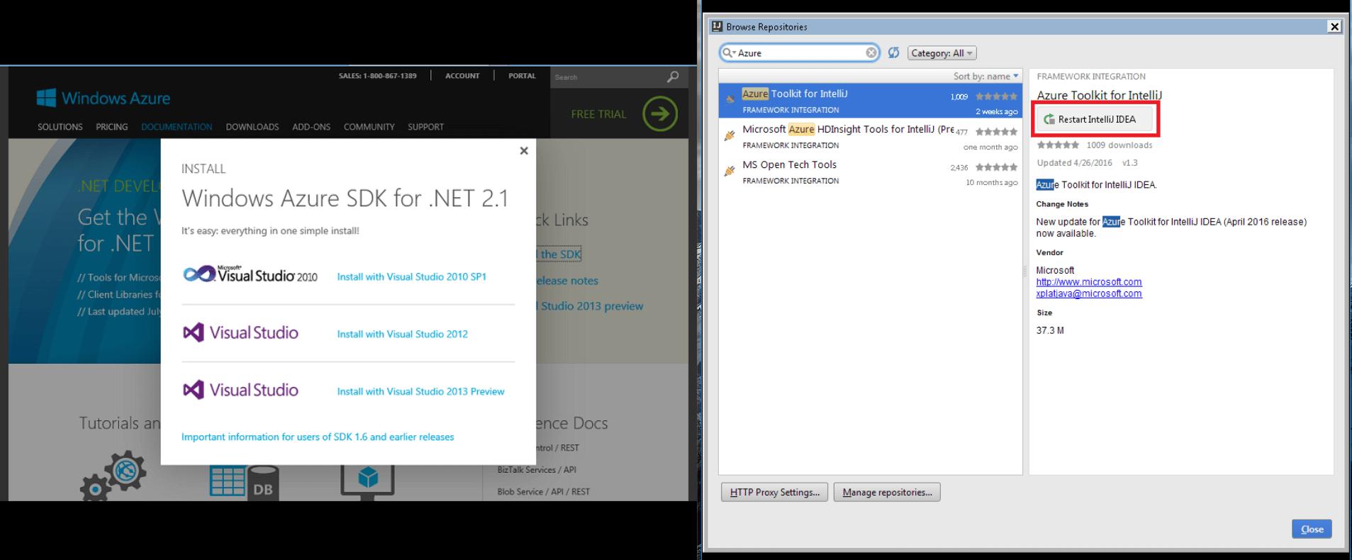 Azure-App-Service-ide-integration