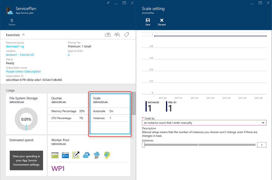Azure-App-Service-scaling-config