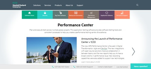 Performance Center from HP