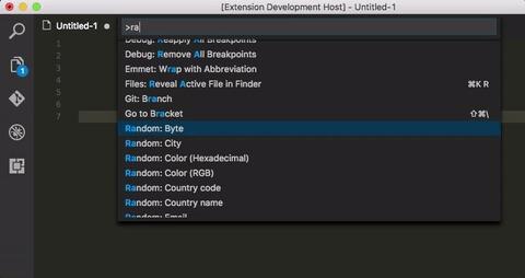vscode-random