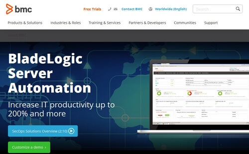 BladeLogic Server Automation