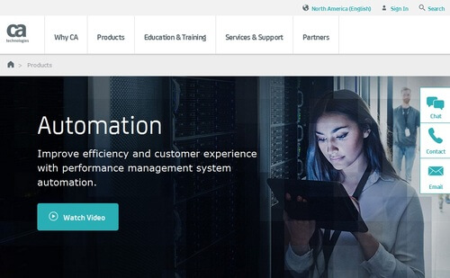 CA Technologies Automation