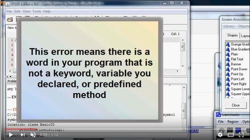 """""""cannot find symbol"""" Java software error"""