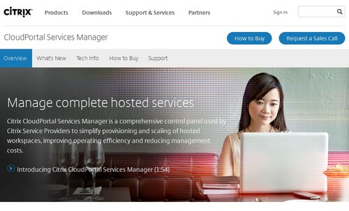 Citrix Cloudportal Services Manager