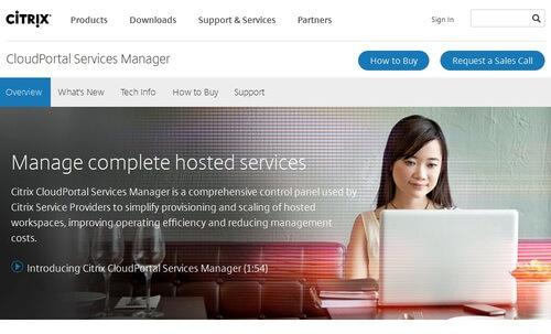 Citrix Cloudportal Services Manager