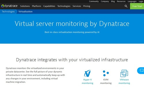 Dynatrace Virtualization
