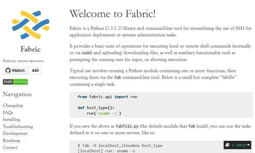 Fabric Website