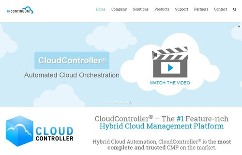 InContinuum's CloudController