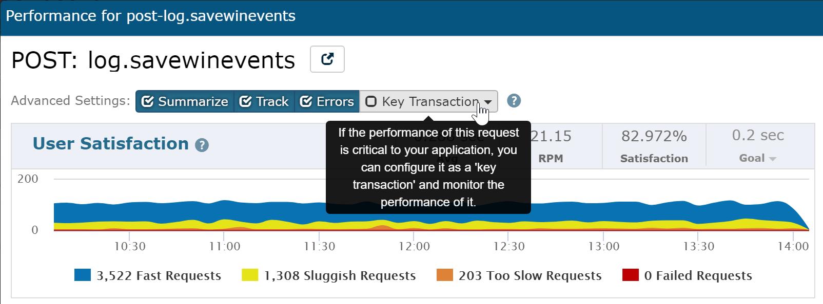Adding a Key Transaction Monitor
