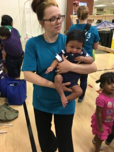 Stackify helps L3 at the Mark Twain Elementary Clothing Fair