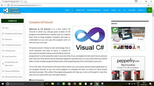 Complete C# Tutorial