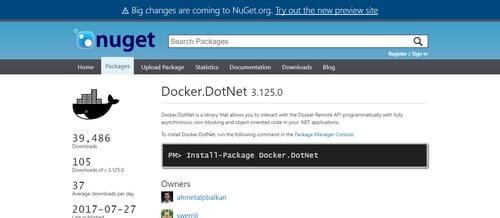 DockerDotNet