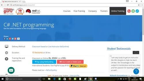 C# .NET Programming