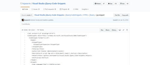 jQuery Code Snippets