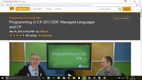 Udemy Programming in C#