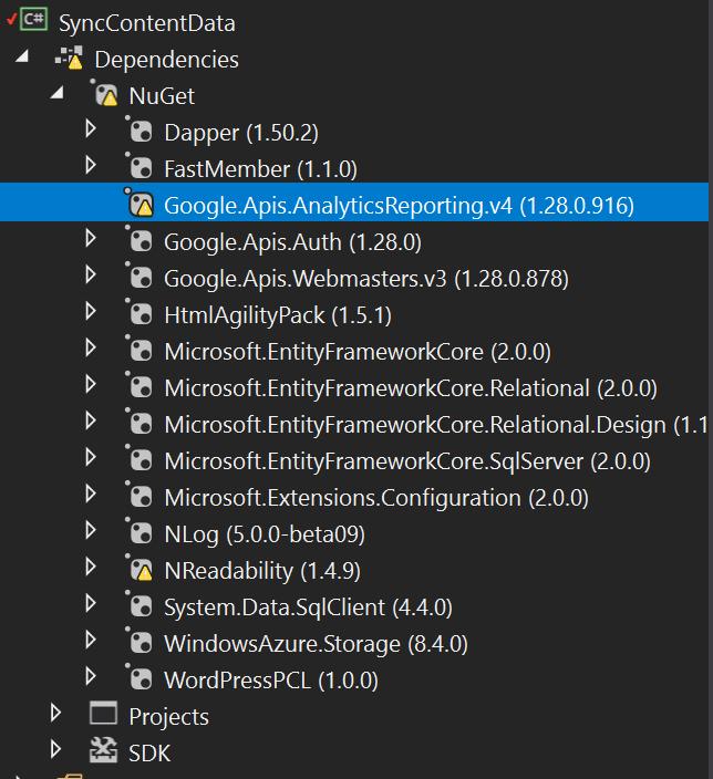 .NET Core 2.0 Project