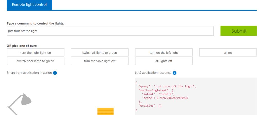 Azure Remote Light Control