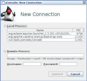 Connecting Remotely to JMX