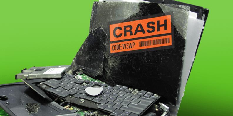 ASP.NET crash