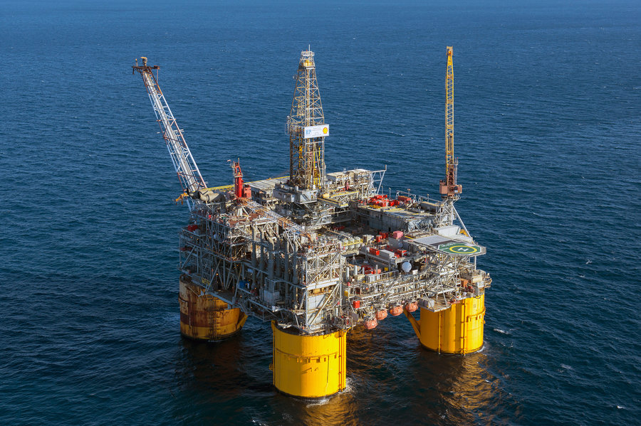 The Shell Ursa Platform Rig is located 130 miles southeast of New Orleans in the Gulf of Mexico. Rigs like this will rely on edge computing for local data processing.