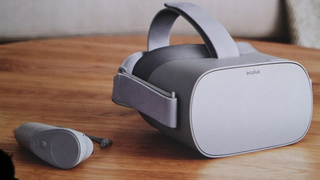 The Oculus Go standalone headset will start at $199.
