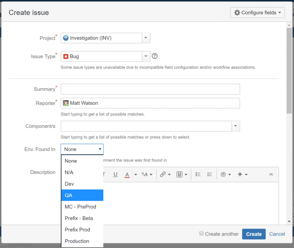 We are able to track where we find defects by customizing Jira to add a custom field to our work items.