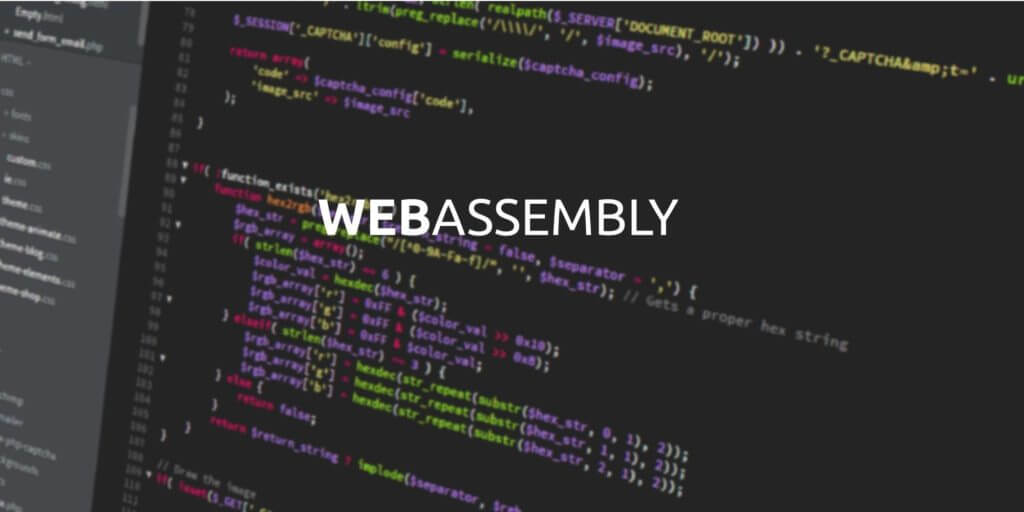 Web Assembly Graphic