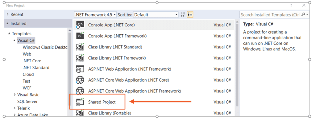 You see these things in Visual Studio and they look like another form of code sharing, next to PCLs and .NET Standard.
