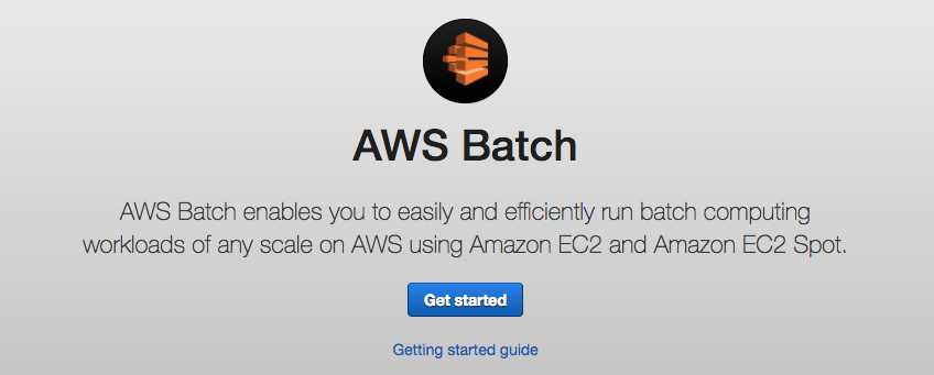 AWS Batch guide