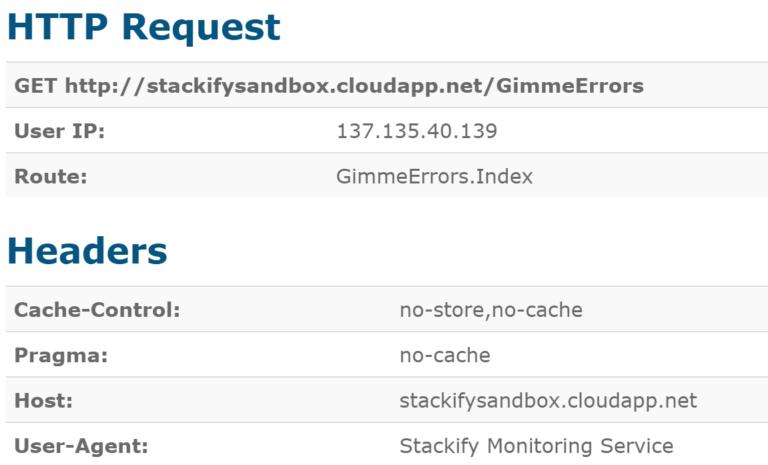 retrace log management error details