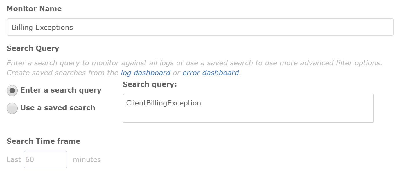 retrace log management log search