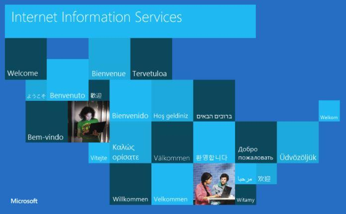 IIS Web Server: (Internet Information Services)