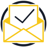 Simple Retrace Sign Up Email Icon