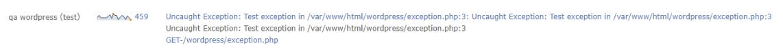 Retrace screenshot of errors