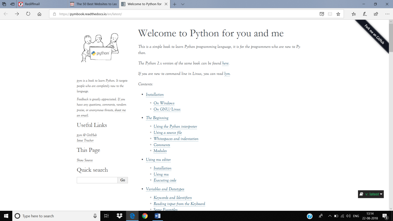 Learn Python: Tutorials for Beginners, Intermediate, and Advanced