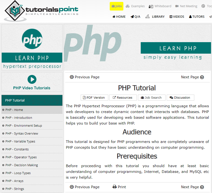 Learn PHP with the Top 25 PHP Tutorials: Resources, Websites, Courses