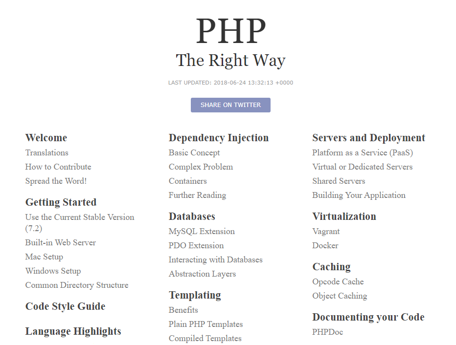 Learn Php With The Top 25 Php Tutorials Resources Websites Courses